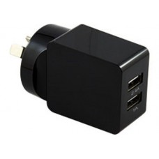 Comsol Dual Port USB Wall Charger 2.4A + 1A